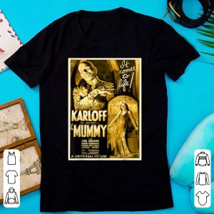 Awesome Mens Vintage Movie Poster - Mummy Horror Movie Tee shirt