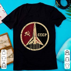 Awesome Proud CCCP Vintage Russia Space Program shirt