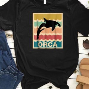 Awesome Vintage Orca Killer Whale shirts