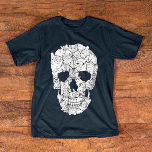 Beautiful Cat Skull Kitty Skeleton Halloween Costume Idea shirt 1 - Beautiful Cat Skull Kitty Skeleton Halloween Costume Idea shirt