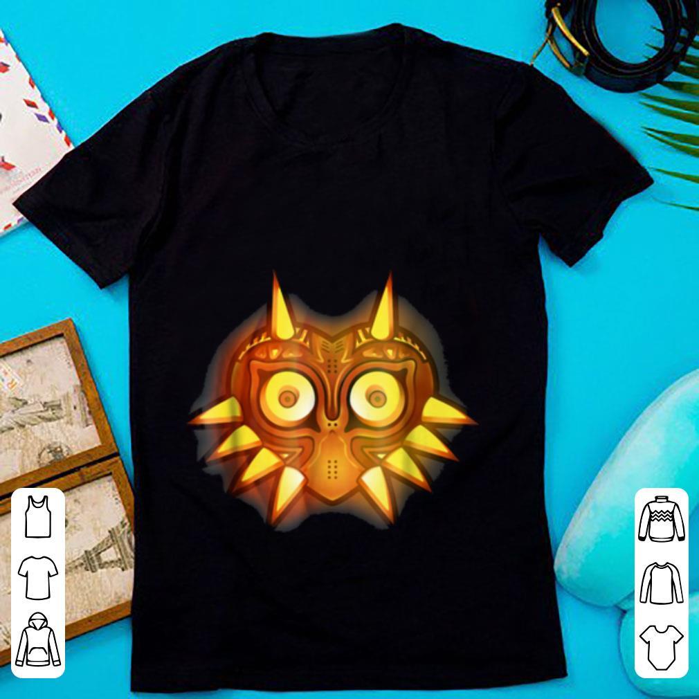 Beautiful Nintendo Zelda Majora Mask Halloween Graphic shirt 1 - Beautiful Nintendo Zelda Majora Mask Halloween Graphic shirt
