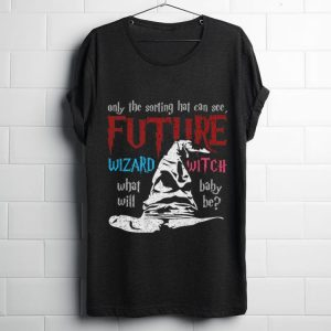 Funny Only The Sorting Hat Can See Future Wizard Witch shirt