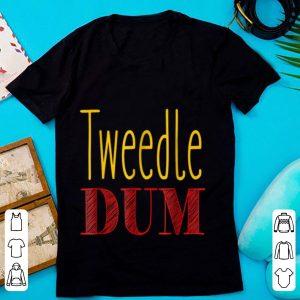 Funny Tweedle Dum Halloween Costume shirt