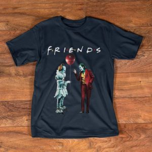 Hot Friends Pennywise With Joker shirt
