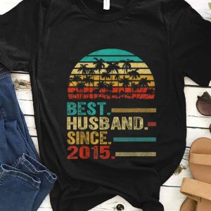 Nice Best Husband Since 2015 Vintage shirt