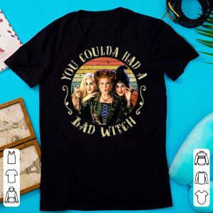 Nice Halloween Hocus Pocus You Coulda Had A Bad Witch Vintage shirts