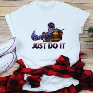Nice Marvel Thanos Nike Avenger Just Do It shirt
