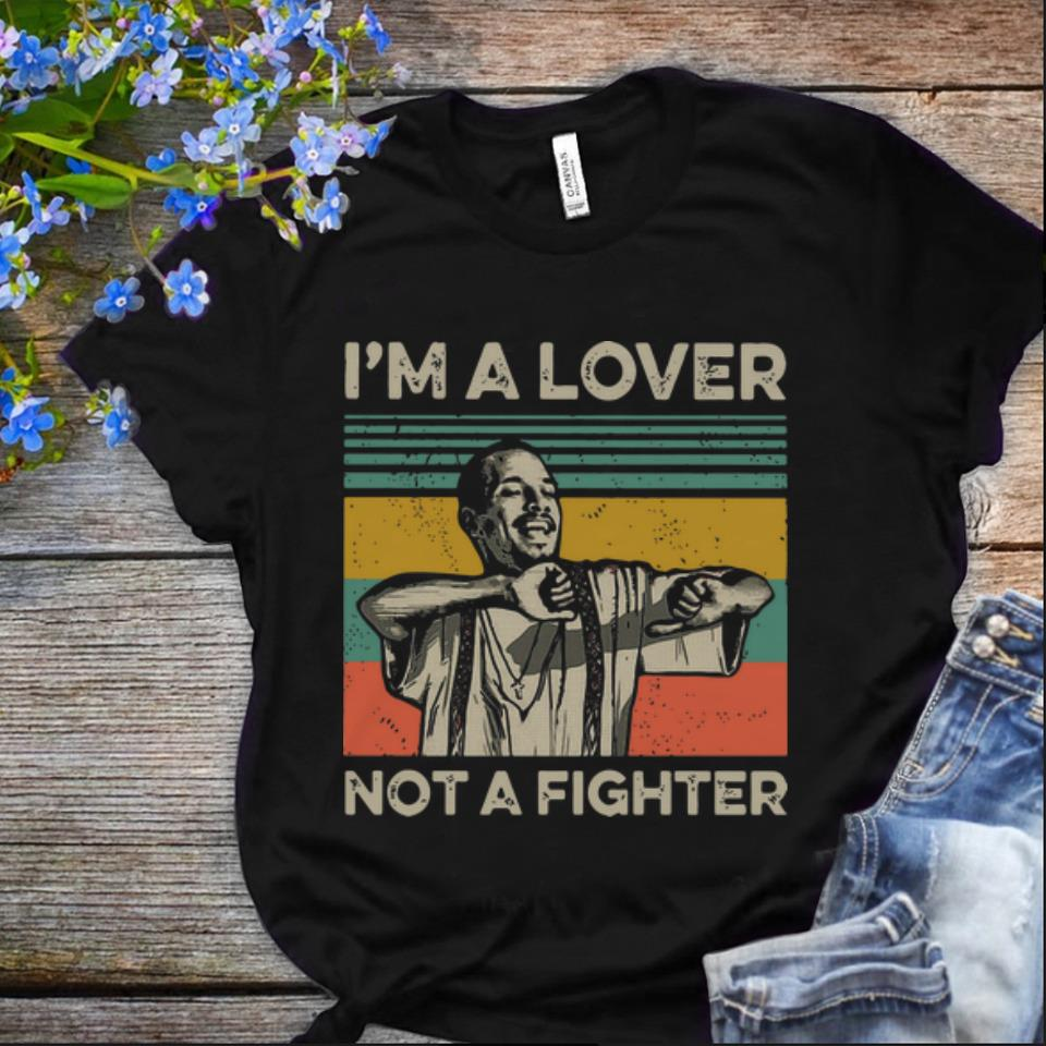 Nice Vintage Blood in Blood Out Cruzito I m A Lover Not A Fighter shirt 1 - Nice Vintage Blood in Blood Out Cruzito I'm A Lover Not A Fighter shirt