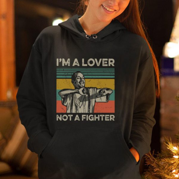 Nice Vintage Blood in Blood Out Cruzito I'm A Lover Not A Fighter shirt