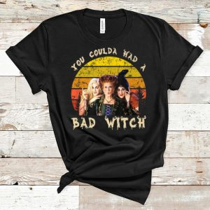 Nice Vintage Hocus Pocus You Coulda Had A Bad Witch shirt