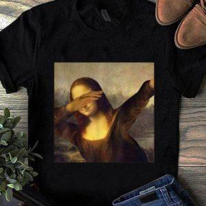 Official Dabbing Mona Lisa La Gioconda Chrissy Insta shirt