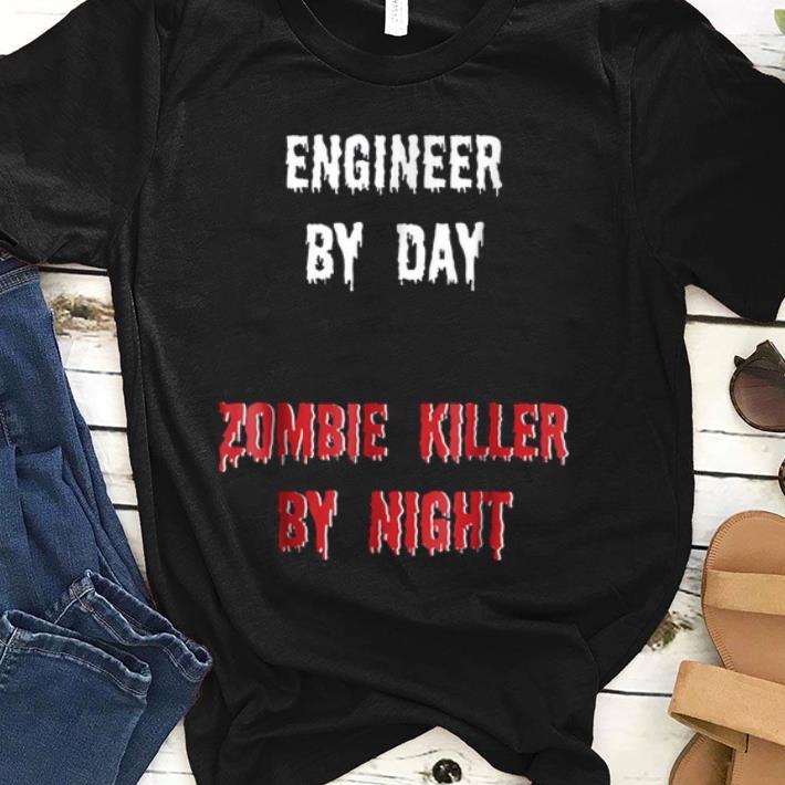 Official Engineer Halloween Zombie Killer shirt 1 - Official Engineer Halloween Zombie Killer shirt