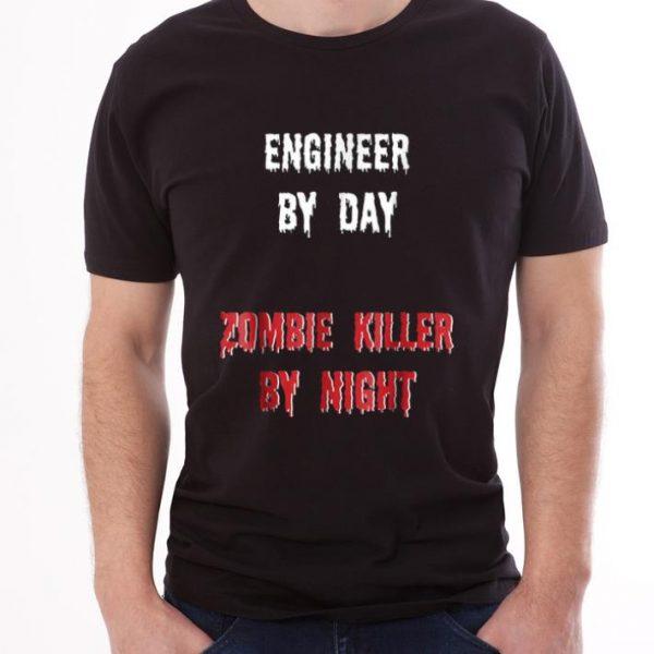 Official Engineer Halloween Zombie Killer shirt