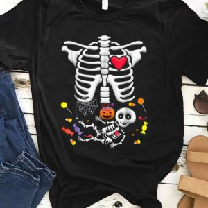 Official Pregnant Skeleton Candy Halloween shirt