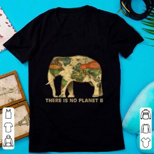 Official There Is No Planet B Elephant Map shirt