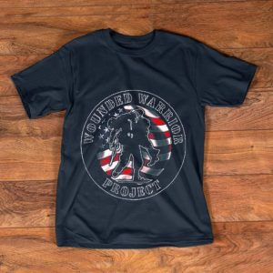 Official Wounded Warrior No One Left Behind American Flag shirt