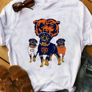 Original Chicago Bears NFL Rottweiler Dog shirt
