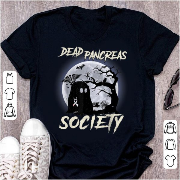 Original Dead Pancreas Society Halloween Diabetes Awareness shirt