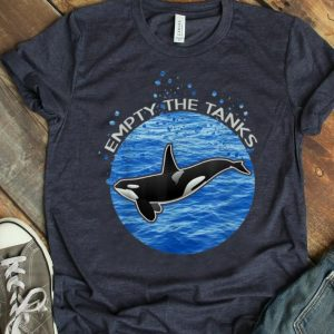 Original Empty The Tanks Killer Whale Orca Maritime Preservation shirt