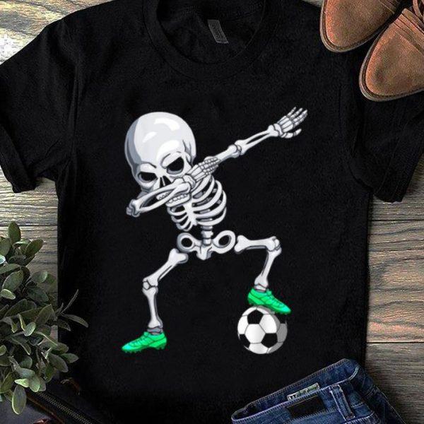 Original Halloween Dabbing Skeleton Apparel, Soccer Player Dab Boys shirt