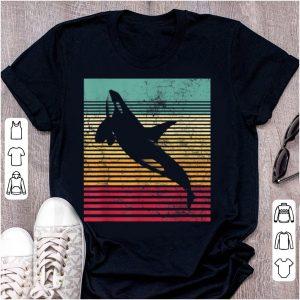 Original Killer Whale Orca Retro Vintage shirt