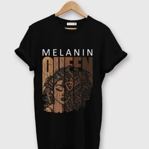 Original Melanin Queen African American Strong Black shirt