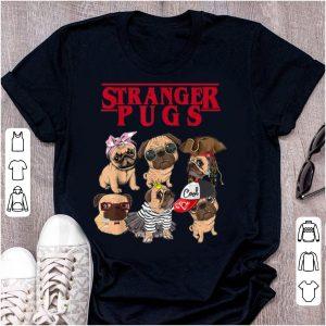 Original Stranger Pugs Things Halloween Costume shirt