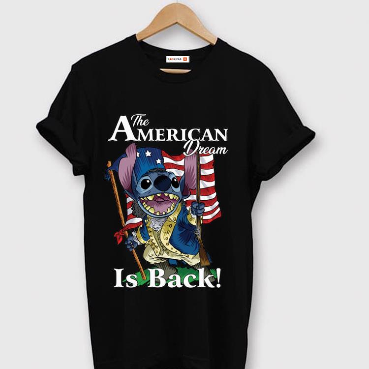 Original The American Dream Is Back Stitch shirt 1 - Original The American Dream Is Back Stitch shirt