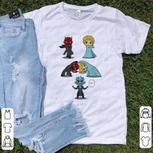 Original White Walker And Elsa Princess Combined shirt