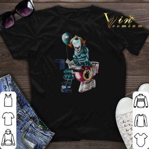 Philadelphia Eagles Dallas Cowboys Redskins Toilet Pennywise shirt