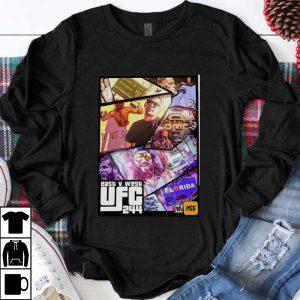 Premium East And West UFC 244 Florida Nate Diaz Vs Jorge Masvidal shirt