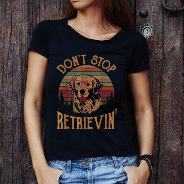 Premium Golden Don't Stop Retrievin Vintage shirt