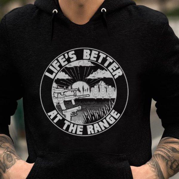 Premium Life's Better At The Range 2A Pro Gun shirt