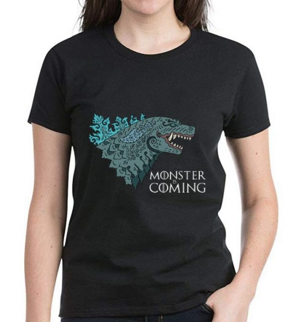 Premium Monster Is Coming Godzilla King Of The Monsters shirt