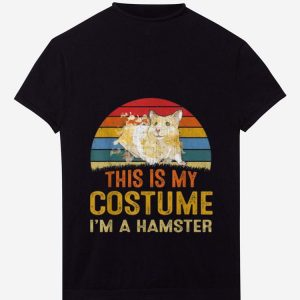 Premium This Is My Costume Hamster Vintage shirt