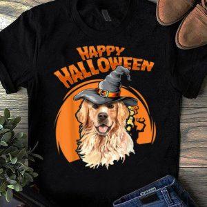 Pretty Golden Retriever Costumes For Halloween Dog Halloweenie Gift shirt