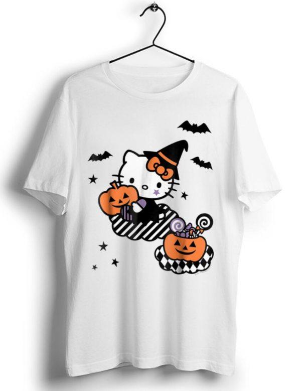 Pretty Hello Kitty Trick or Treat Halloween Pumpkin shirt