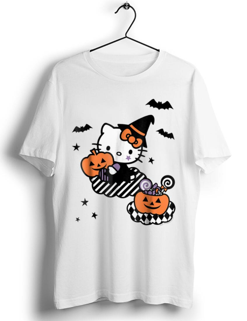 Pretty Hello Kitty Trick or Treat Halloween Pumpkin shirt 1 1 - Pretty Hello Kitty Trick or Treat Halloween Pumpkin shirt