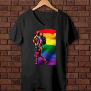 Pretty LGBT Deadpool shirts