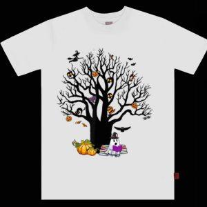 Pretty Tree Boo Boo Ghost Pumpkin Witch Halloween shirt