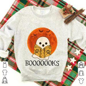 Top Ghost Read Booooooks Sunset Halloween shirt