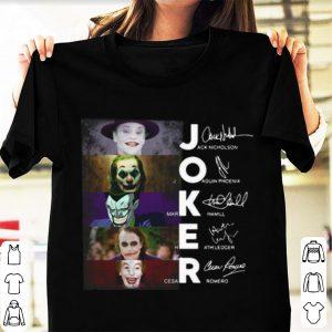 Top Joker All Version Signature shirt