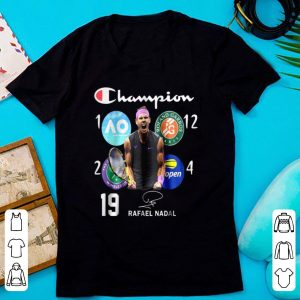 Top Rafael Nadal - Champion 4th Us Open Signature shirt