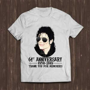 Top Thank You For The Memories Michael Jackson 61st shirt