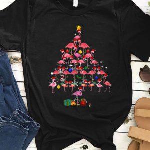 Awesome Flamingo Christmas Tree Present Gift shirt