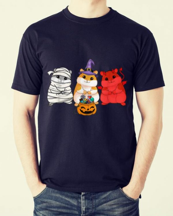 Awesome Guinea Pigs happy Halloween, Cute mummy witch demon shirt