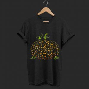 Awesome Halloween Music Note Pumpkin shirt