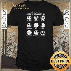 Awesome Many faces of Jack Skellington faces emotion shirt sweater