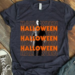 Awesome Michael Myers Portrait Halloween shirt