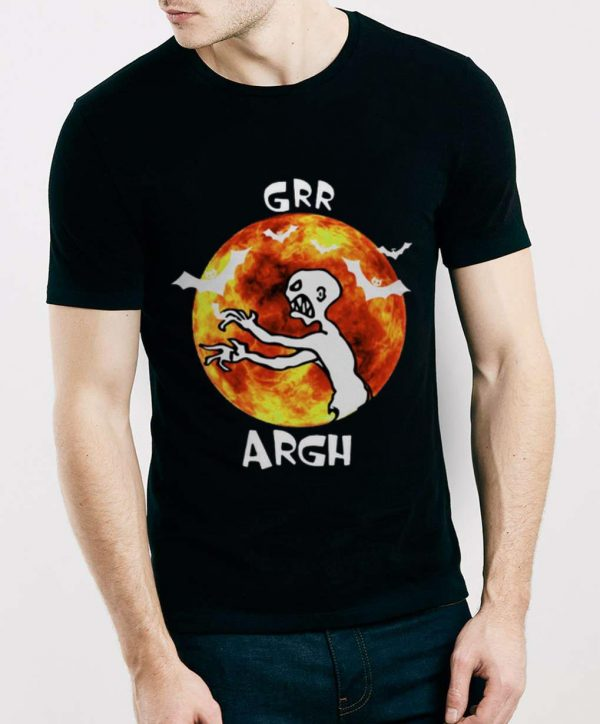 Awesome Red Moon Mutant Enemy Grr Argh shirt